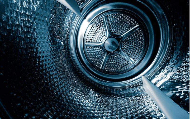 Bubon (vnútro) práčky - detail