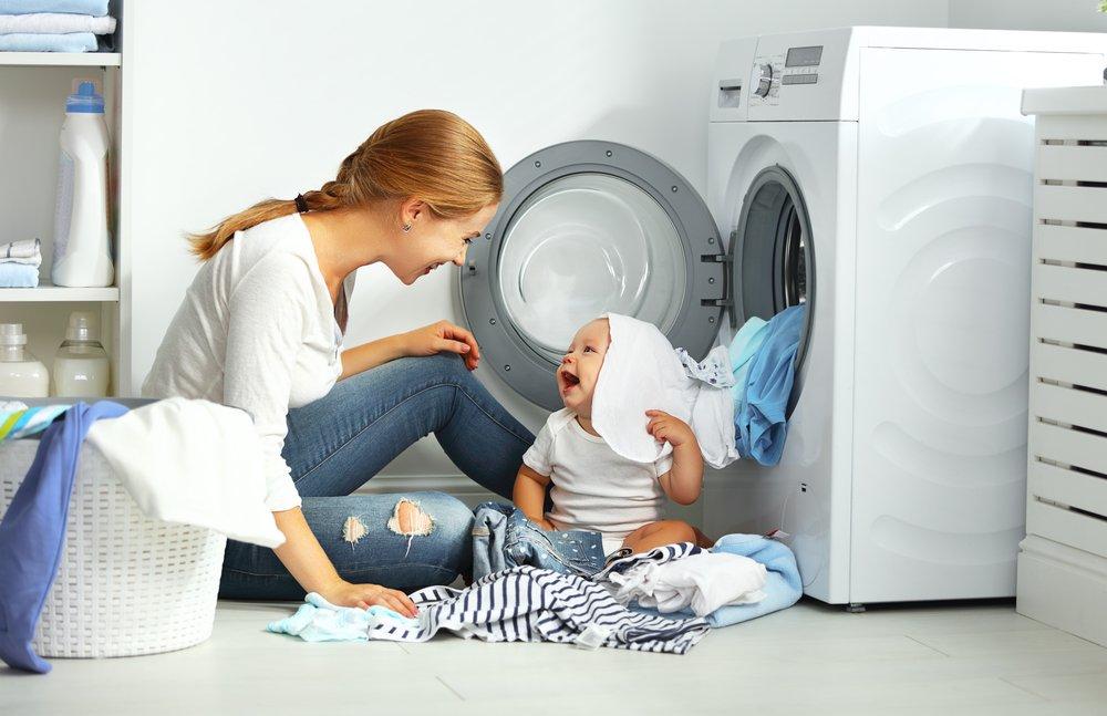 Čistá práčka bez plesní