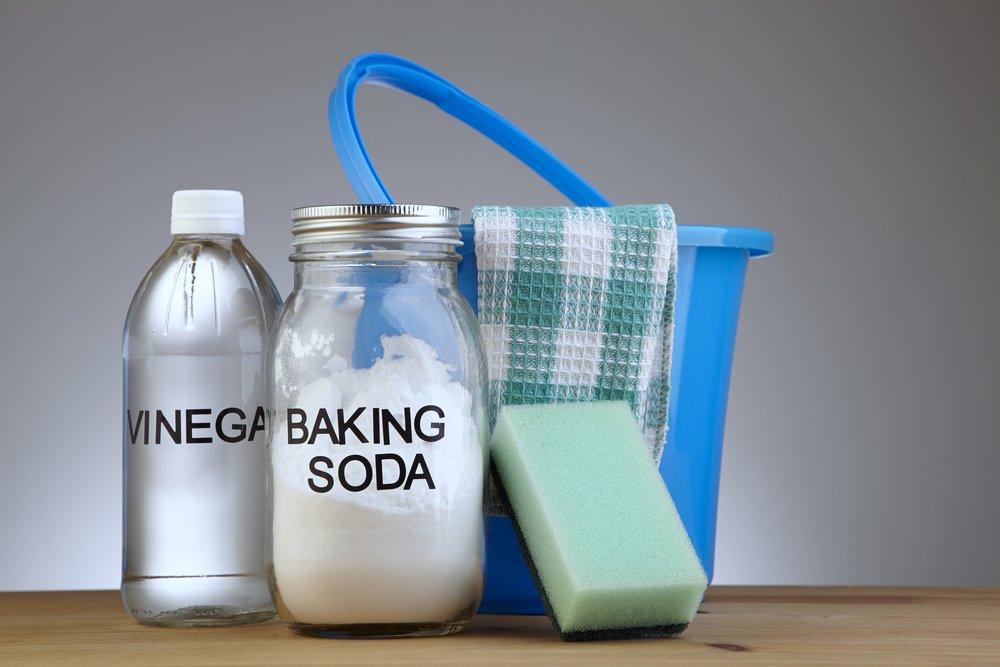 Ocot a jedlá sóda pomôžu pri čistení práčky