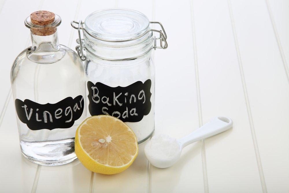 ocot, sóda a citrón