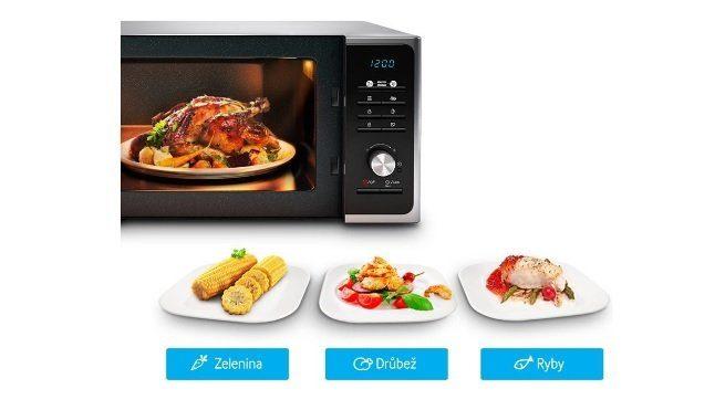 Mikrovlnka Samsung s jedlami
