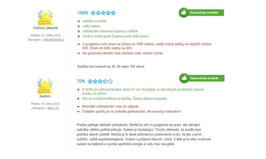 Skúsenosti užívateľov s práčkou Beko HTV 8733 XS0