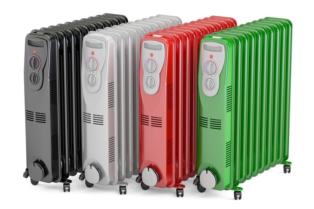 Elektické olejové radiátory