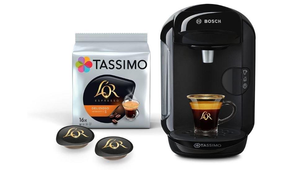 Kapsulový kávovar Bosch TAS 1402 Tassimo Vivy 2