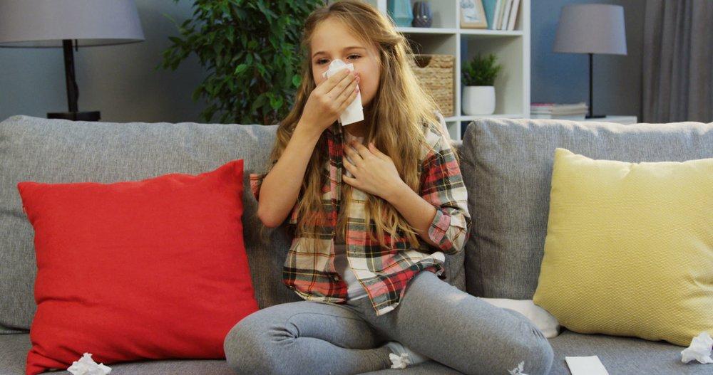kýchanie, nádcha, príznaky alergie