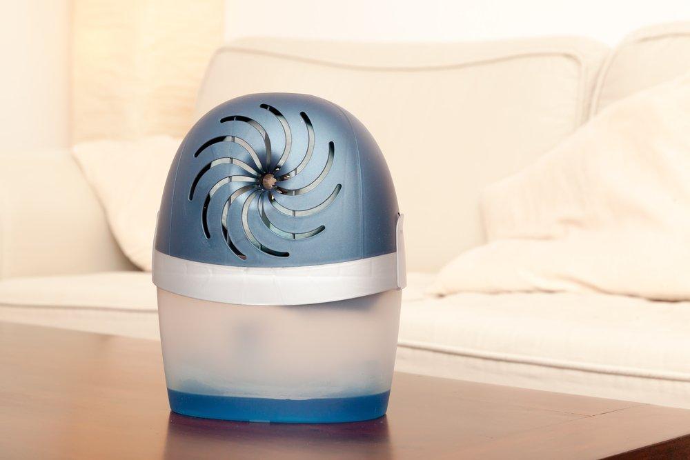 Odvlhčovač vzduchu v dome