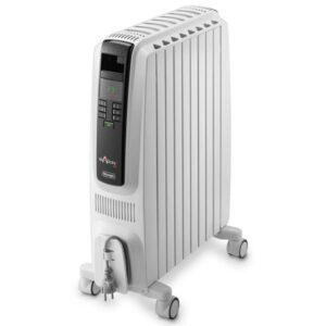 Olejový radiátor DeLonghi TRD40820E čierny/biely