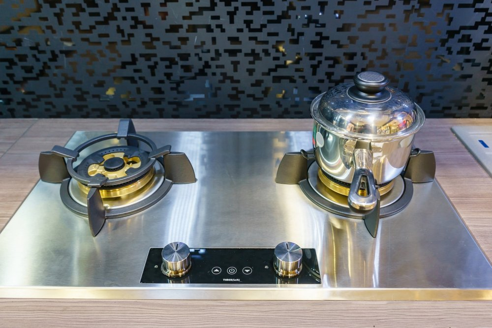 Plynová varná doska - dvojplatnička v dizajnovom prevedení