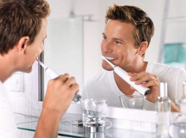 Používanie zubnej kefky Philips