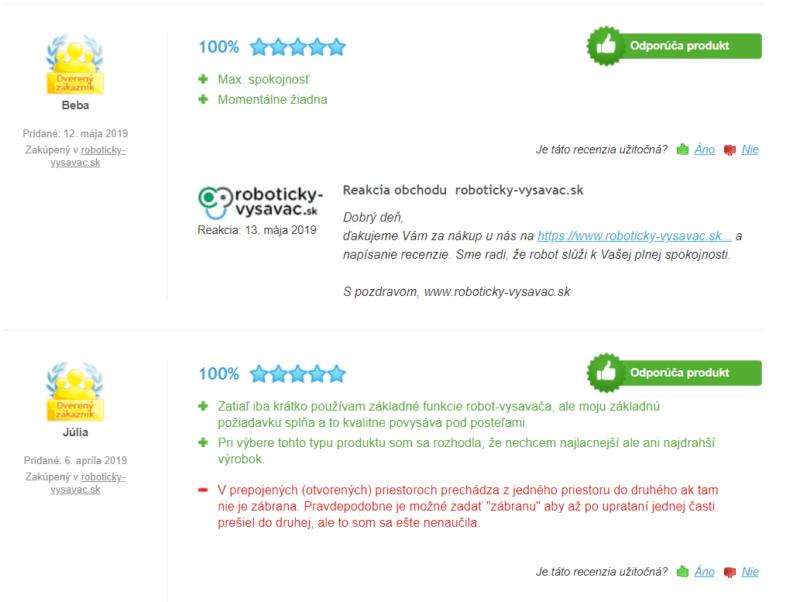Recenzie Roomba 966 - 100% hodnotenie