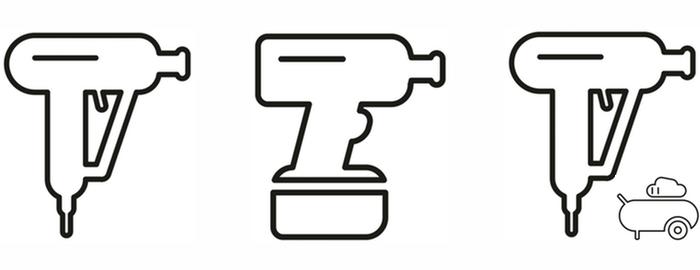 Rozdelenie rázových uťahovákov - elektrické, aku, pneumatické