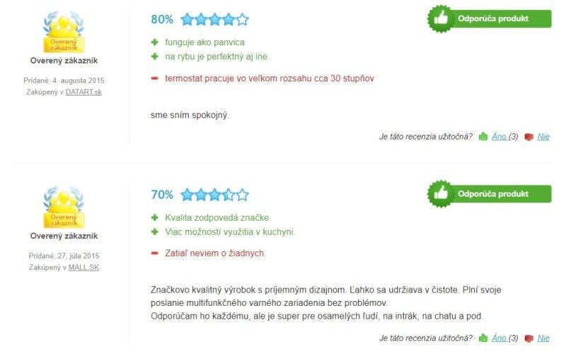 Skúsenosti s fritézou Tefal Versalio Deluxe FR490070