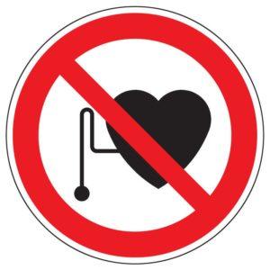 Preškrtnutý symbol pacemakeru