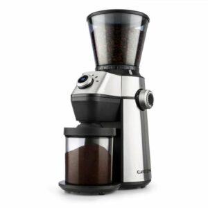 Triest, mlynček na kávu, kužeľové mlecie teleso, 150W, 300g, 15 mlecích stupňov, nerezová oceľ
