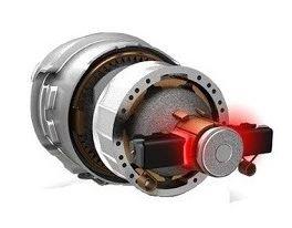 Uhlíkový komutátorový motor