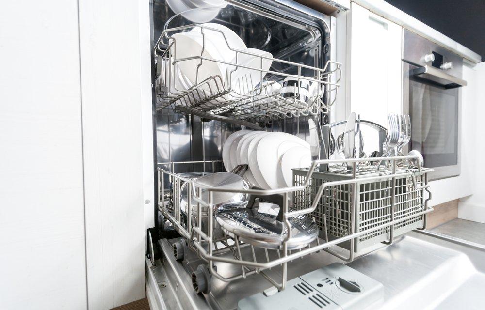 Vnútorné vybavenie umývačky riadu