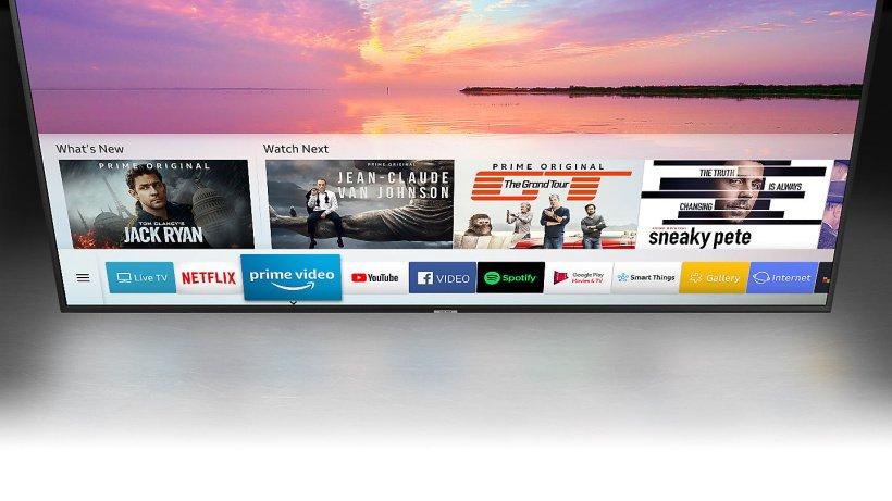Aplikácia OneDepth pre nekonečnú zábavu s televízorom Samsung UE43RU7172.