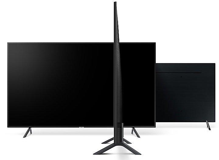 Hĺbka televízora Samsung UE43RU7172 je len 59 mm.