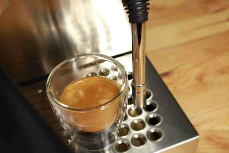 Espresso pripravene s Rancilio Silvia E