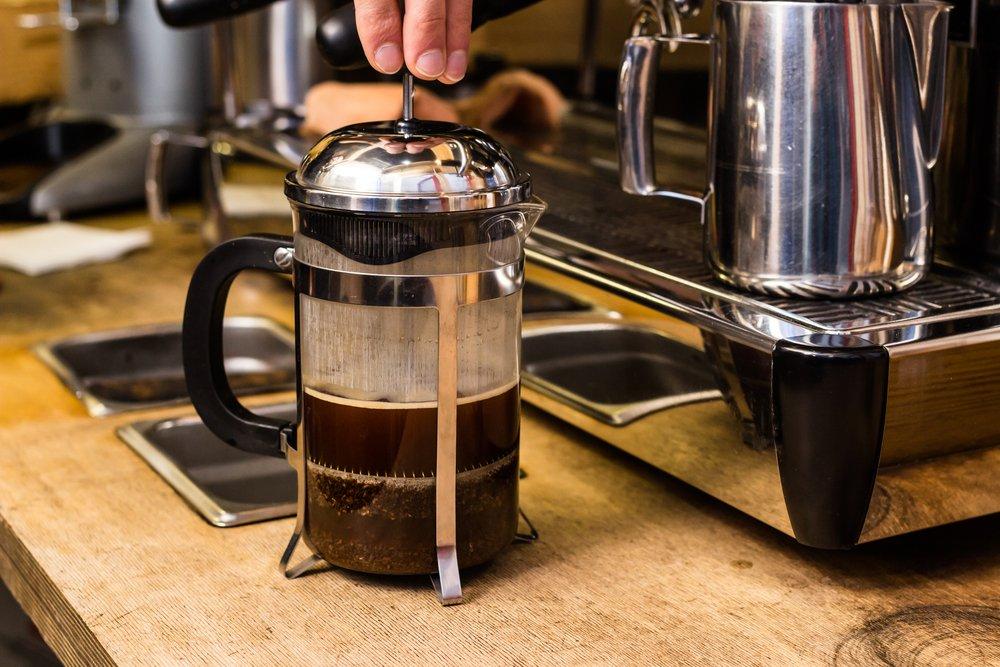 Najlepšia káva pomocou french pressu