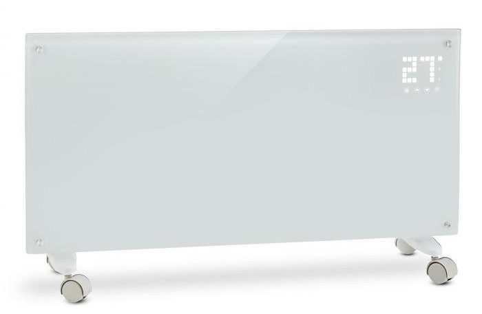 Klarstein Bornholm - biely konvekčný ohrievač 2000 W