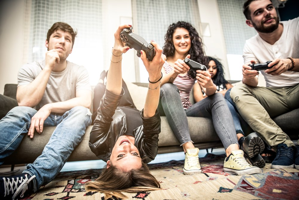 náruživí hráči videohier