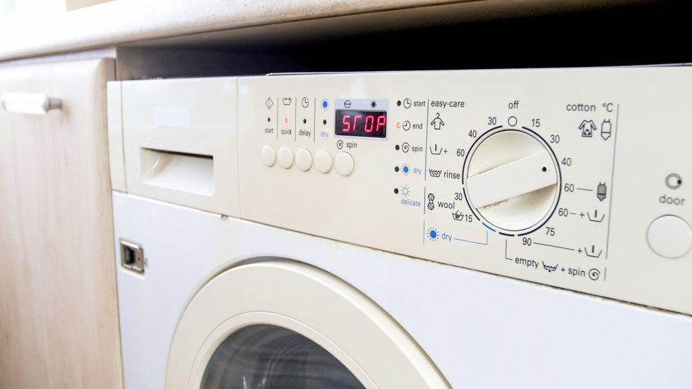 Displej na práčke