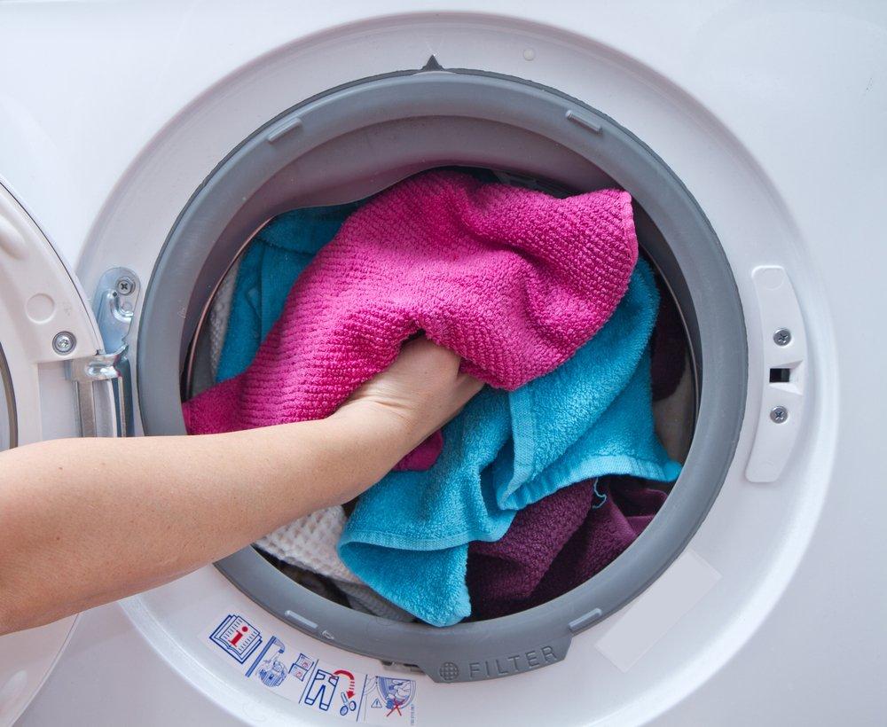 Preplnená práčka