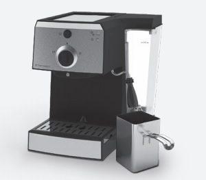 Postup pri prvom spustení kávovaru Electrolux EEA 111
