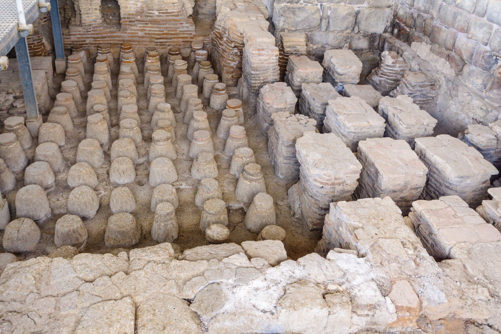 prvý systém ústredného kúrenia v starovekom Ríme