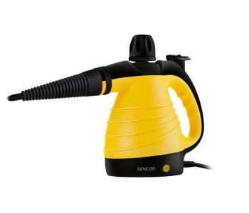 Žlto čierny ručný parný čistič