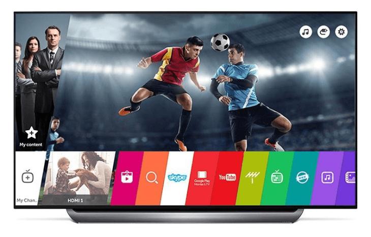 Smart televízory LG