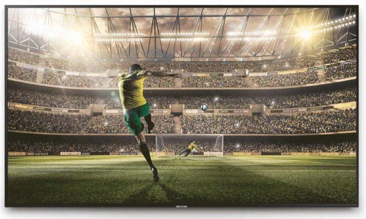 Futbal v tv Samsung UE65NU7172