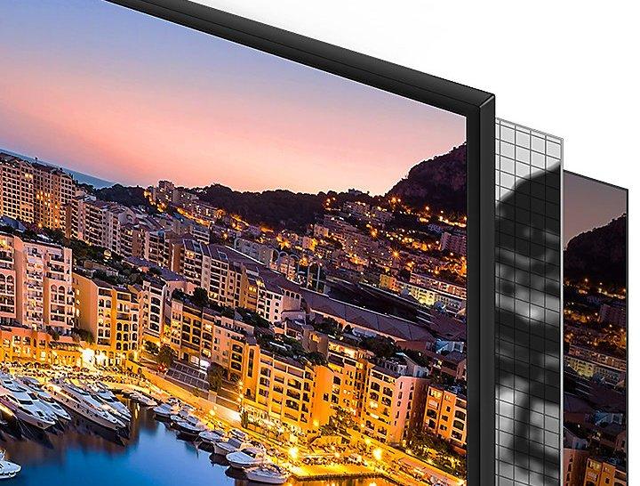 Tv Samsung UE43RU7172 a jeho technológia UHD Dimming.