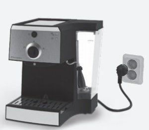 Zapojenie kávovaru Electrolux EEA 111 do elektrickej zásuvky