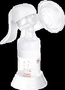CANPOL BABIES 12/205 Ručná odsávačka materského mlieka Basic