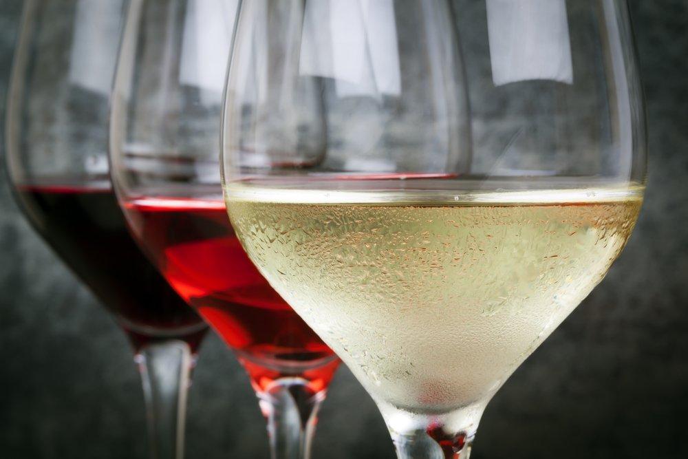 Poháre s vínom