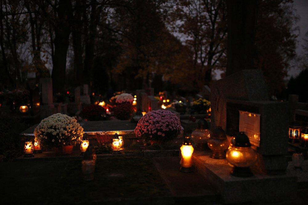 Chryzantémy na hroboch