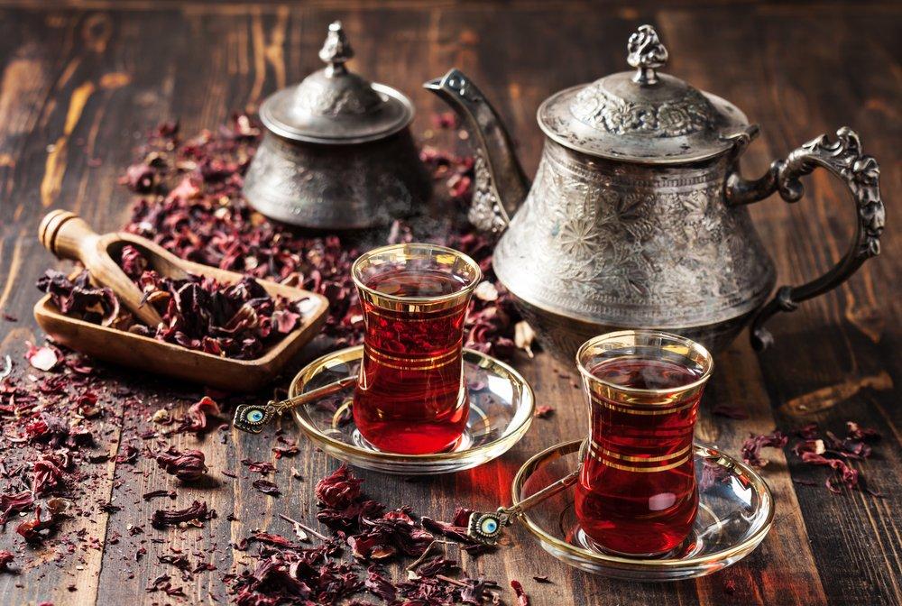 Čaj z ibišteka sudánskeho