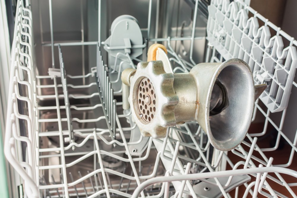Niektoré mlynčeky na mäso sú vhodné aj do umývačky riadu