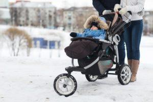 zimná prechádzka