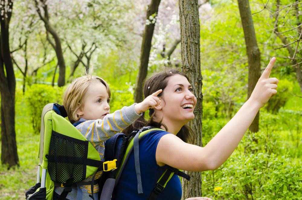 turistický nosič pre dieťa