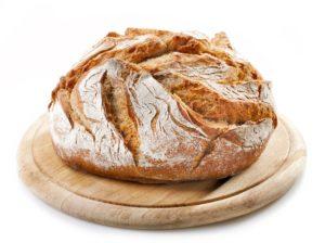Dokonale upečený bochník chleba