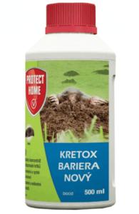 Kretox - biocíd na krty
