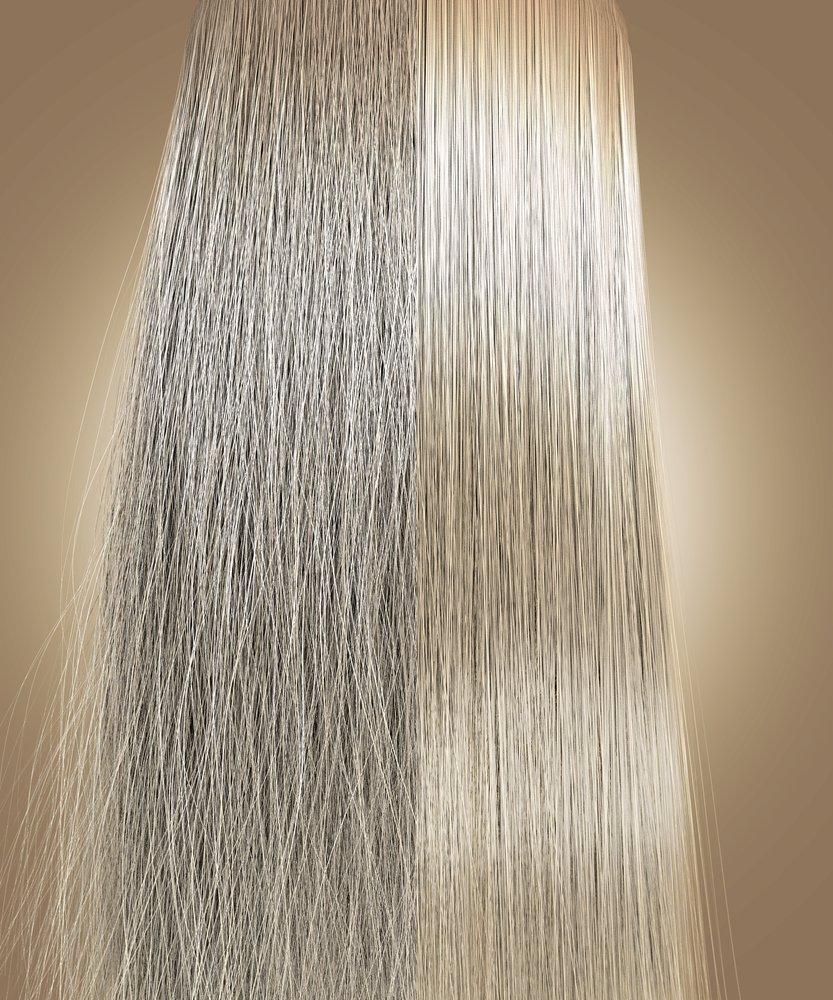 Vlasy ošetrené iónovou technológiou