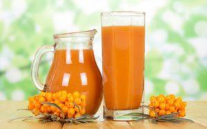 Šťava z rakytníka pôsobí ako silný antioxidant