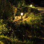Solárne lampy do záhrady