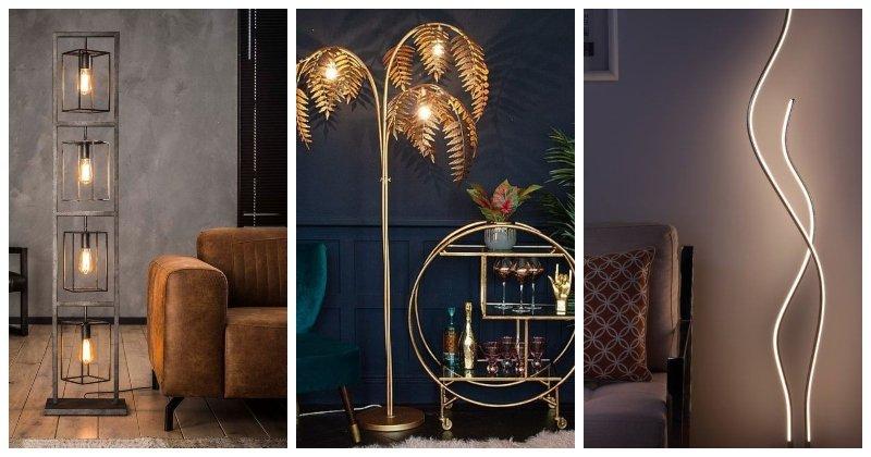 Stojace lampy do obývačky