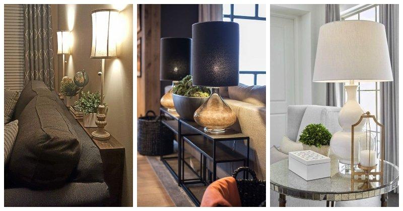 Stolné lampy do obývačky