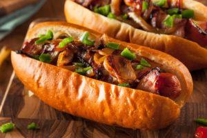 Americký hotdog